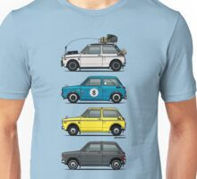 Stack of Honda N360 N600 Kei Cars Unisex T-Shirt