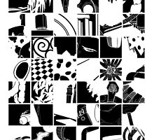 Go: Black & white grid by mymiddlenameis