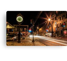 Historic Downtown Canvas Print