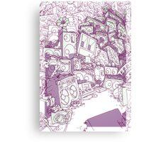 Ligne claire 02 Canvas Print