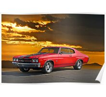 1971 Chevrolet Chevelle SS454 Poster