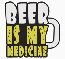 Beer Medicine Glass by Style-O-Mat