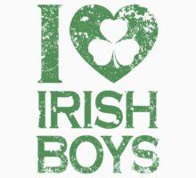 I Love Irish Boys Baby Tee