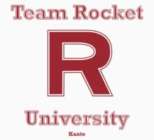 team rocket university by atoprac59
