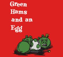 green hams and an egg by TragicHero