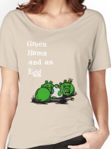 green hams and an egg Women's Relaxed Fit T-Shirt