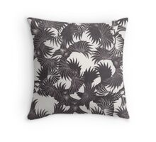 Thought Birds Throw Pillow