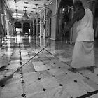 Cleaning the Floor by Aurobindo Saha