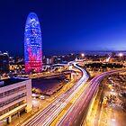 Torre Agbar by Pau  Garcia Laita