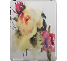 Watercolour Rose IPAD Cover iPad Case/Skin
