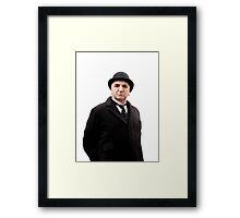 Carson Downton Abbey Framed Print