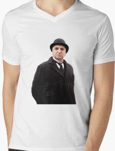 Carson Downton Abbey Mens V-Neck T-Shirt