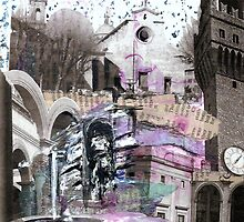 A collage of cities by catherine6401
