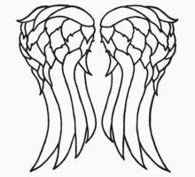 Daryl's Angel Wings by WalkingMatt