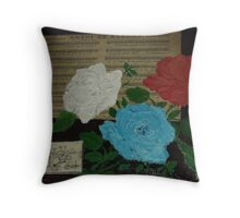 Sending Flowers Throw Pillow