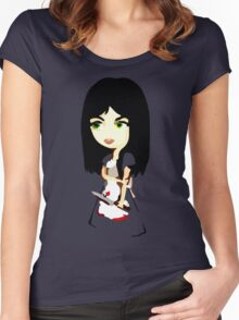 American McGee's Alice Women's Fitted Scoop T-Shirt