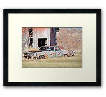 Old Luxury Framed Print