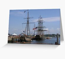 The Providence and the Bounty Greeting Card