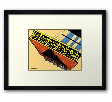 CITGO BOSTON 2013   Framed Print