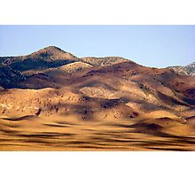 Clouds over Mojave Desert Photographic Print