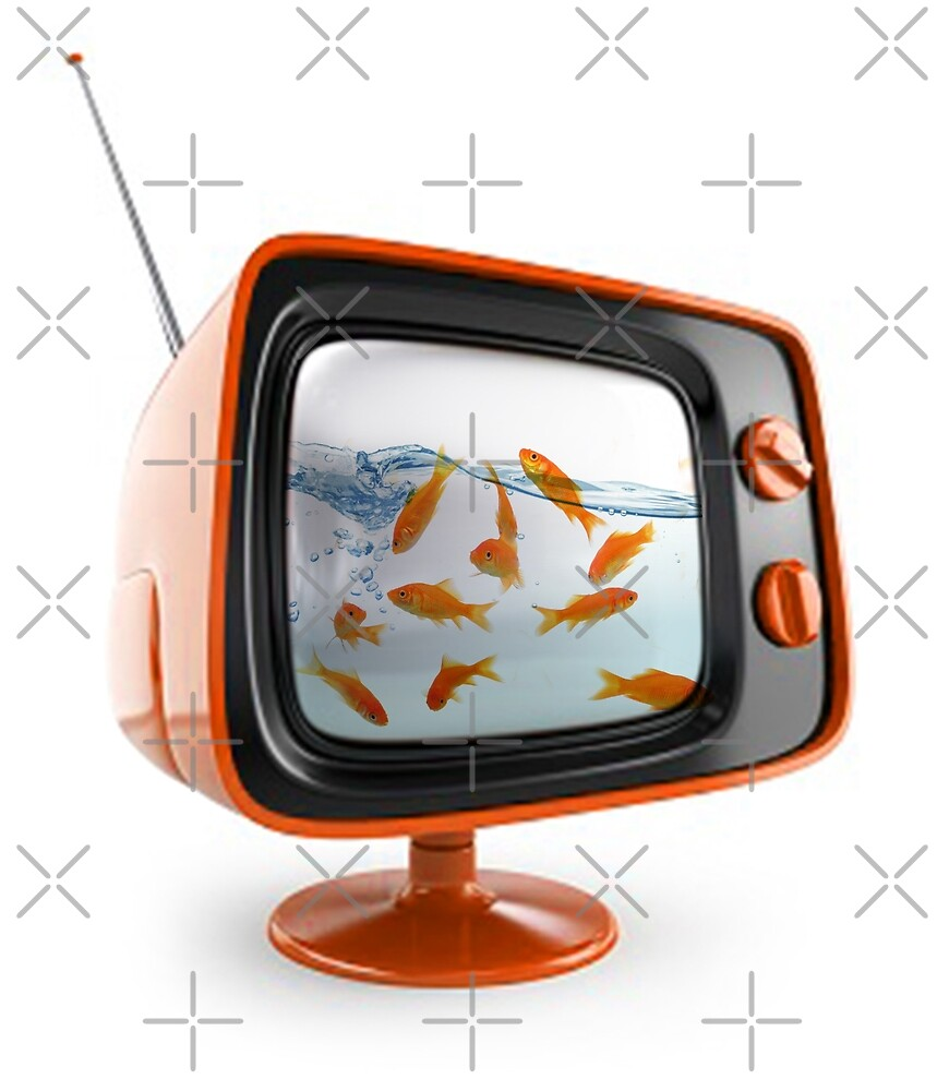 GOLD FISH TV by Vin  Zzep