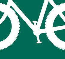 Fat Bike Route Sticker
