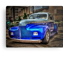 Two Blue Too Cool Metal Print