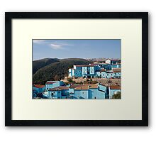Juzcar,  blue Andalusian village  Framed Print