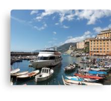 la mia bella ITALIA - CAMOGLI E IL SUO PORTICCIOLO-EUROPA-MONDO -  VETRINA RB EXPLORE APRILE 2013 -              Canvas Print