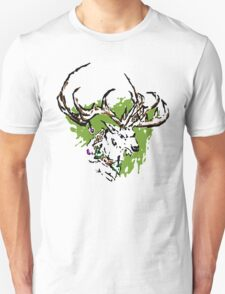Inky Stag Unisex T-Shirt