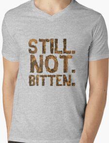 Still. Not. Bitten. Mens V-Neck T-Shirt
