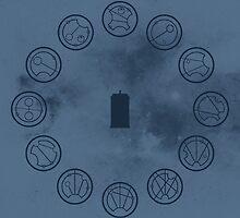 Gallifreyan Clock by biskh