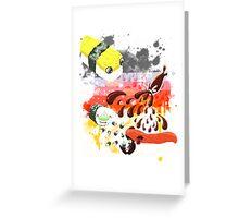 Sushi explosion Greeting Card