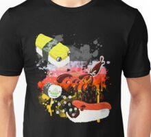 Sushi explosion Unisex T-Shirt