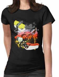 Sushi explosion Womens Fitted T-Shirt