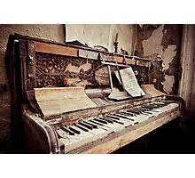 Musical  Photographic Print