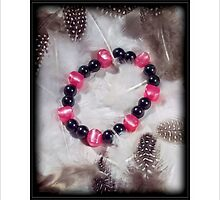 Bracelet of Pink by SamanthaJulain