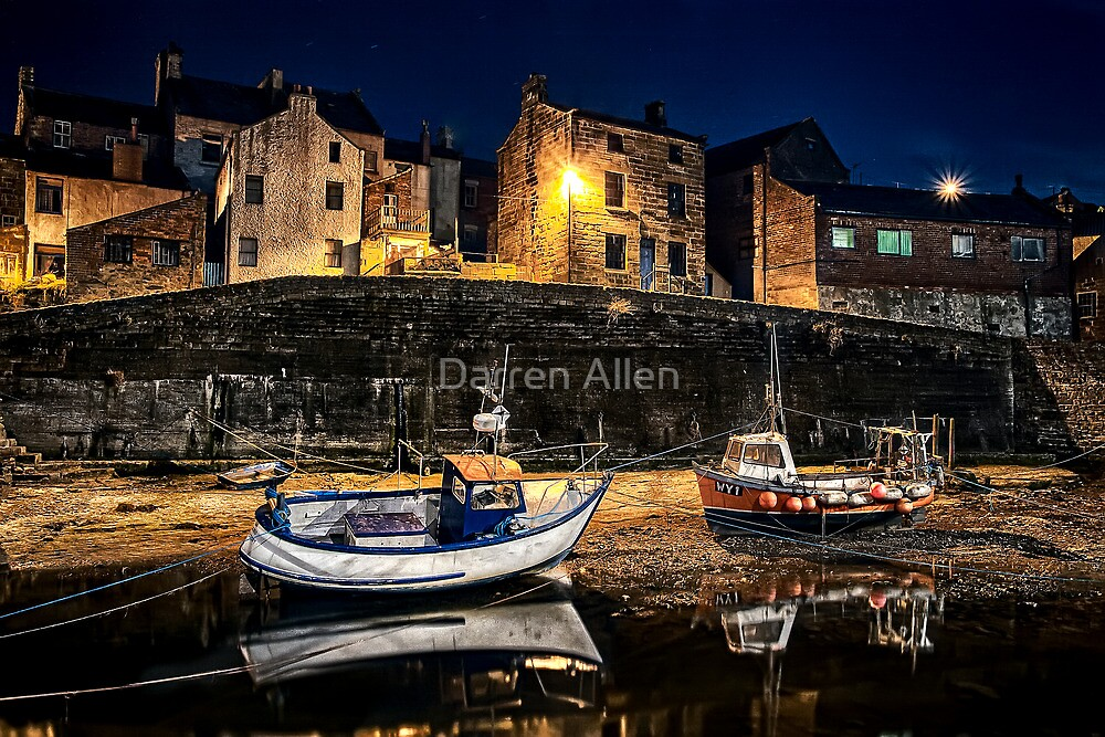 Waiting for the tide by Darren Allen