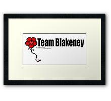 Team Blakeney Framed Print