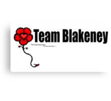 Team Blakeney Canvas Print