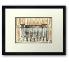 Abandoned Detroit Framed Print