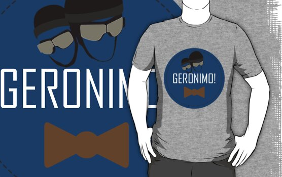 Doctor Who Geronimo Badge by Theo Gregory