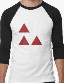 4chan Triforce Men's Baseball ¾ T-Shirt
