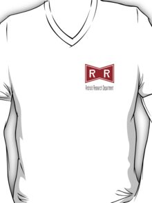 Red Ribbon Android Research Dept. T-Shirt