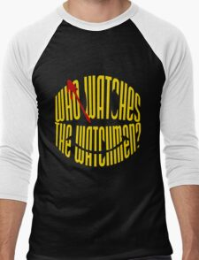 Who Watches the Watchmen? Men's Baseball ¾ T-Shirt