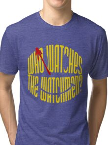 Who Watches the Watchmen? Tri-blend T-Shirt