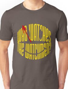 Who Watches the Watchmen? Unisex T-Shirt