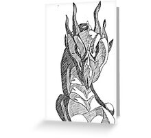 The Shaded Dragon Greeting Card