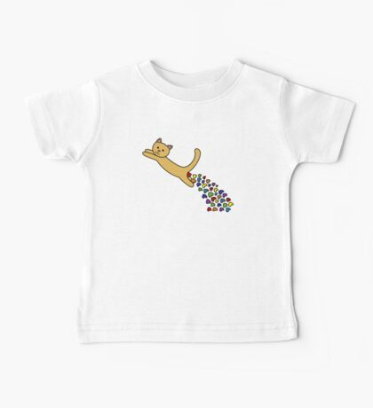 Thinking of you Rainbow + Greeting Card Baby Tee