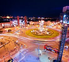 Plaza España by Pau  Garcia Laita